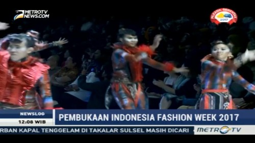Kemeriahan Pembukaan Indonesia Fashion Week 2017