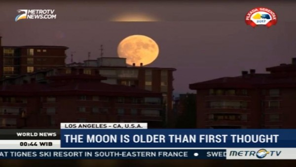 The Moon is Older Than First Thought