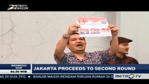 Jakarta Governor Election Proceeds to Second Round