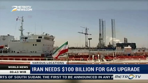Iran Needs $100 Billion for Gas Upgrade
