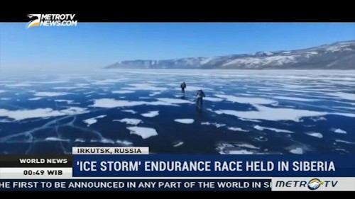 'Ice Storm' Endurance Race Held in Siberia