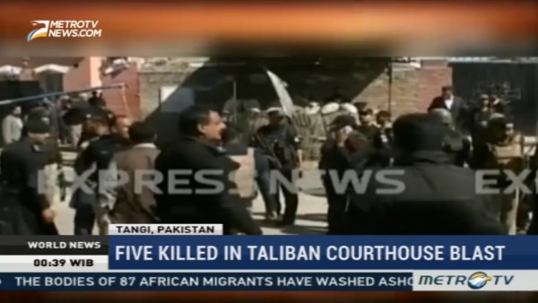 Five Killed in Taliban Courthouse Blast