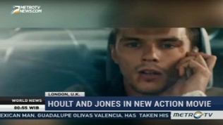 Hoult and Jones in New Action Movie