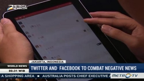 Twitter and Facebook to Combat Negative News