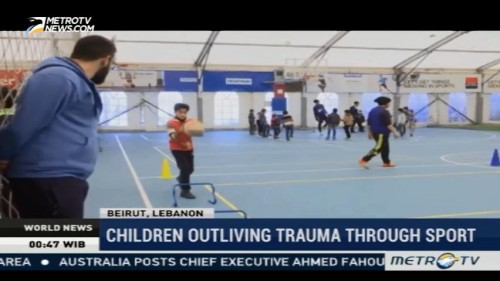 Children Outliving Trauma Through Sport