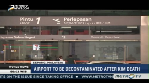 Airport to be Decontaminated After Kim Jong-nam Death