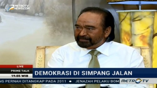 Surya Paloh: Sistem Demokrasi Indonesia Sudah Ideal