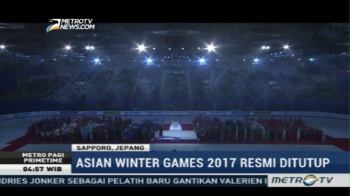 Asian Winter Games 2017 Resmi Ditutup