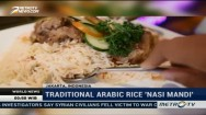 Traditional Arabic Rice 'Nasi Mandi'