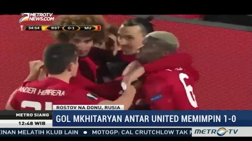 Highlight Liga Europa: MU Ditahan Imbang, AS Roma Tumbang
