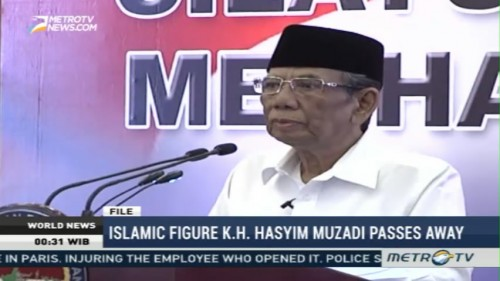 Islamic Figure KH Hasyim Muzadi Passes Away