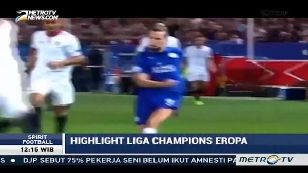 Highlight Liga Champions Eropa