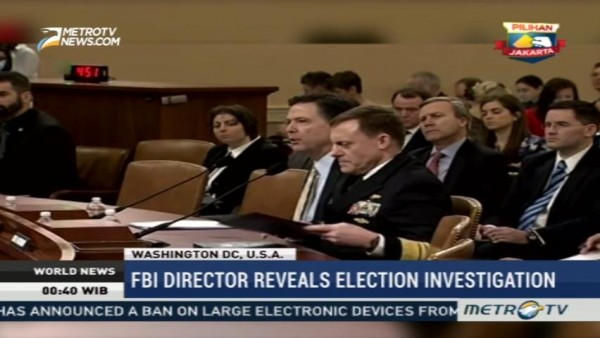 FBI Director Reveals Russia Election Investigation