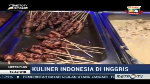 Cita Rasa Kuliner Indonesia di London