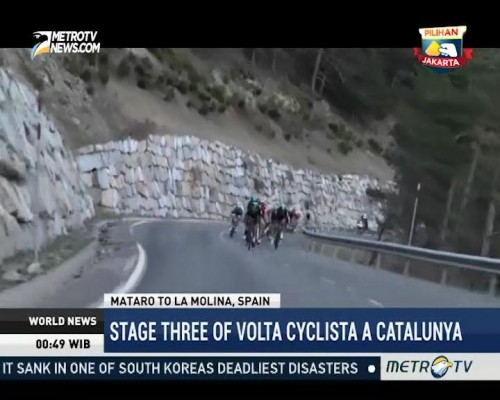 Stage Three of Volta Ciclista a Catalunya