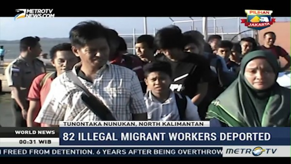 82 Illegal Migrant Workers Deported from Malaysia