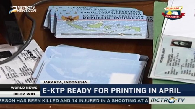 E-KTP Ready for Printing in April