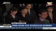 Park Geun-hye Scheduled Hearing