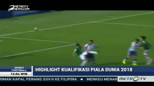 Highlight Kualifikasi Piala Dunia 2018