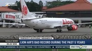 Lion Air's Bad Record During the Past 5 Years