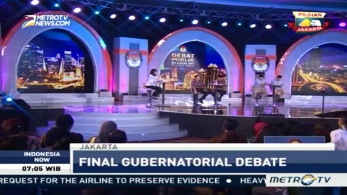 Final Gubernatorial Debate