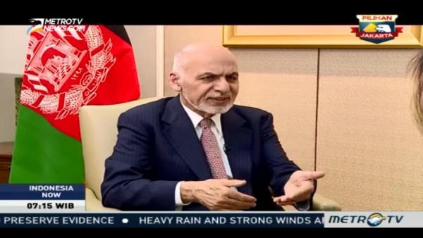 Interview with President of Afghanistan