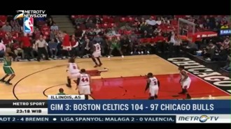 Boston Celtics Tekuk Chicago Bulls 104-87