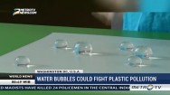 Water Bubbles Could Fight Plastic Pollution