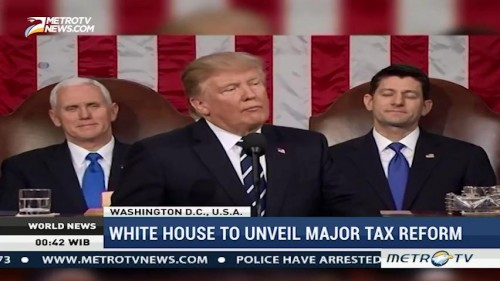 White House to Unveil Major Tax Reform