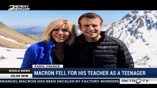 Macron Fell for His Teacher as A Teenager