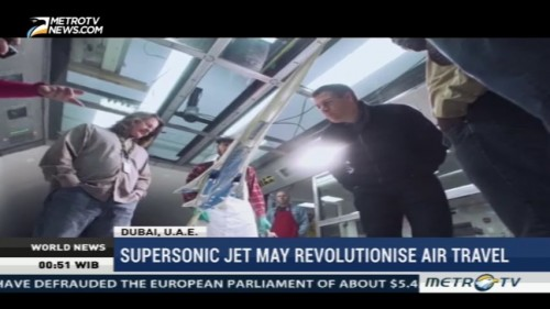 Supersonic Jet May Revolutionise Air Travel