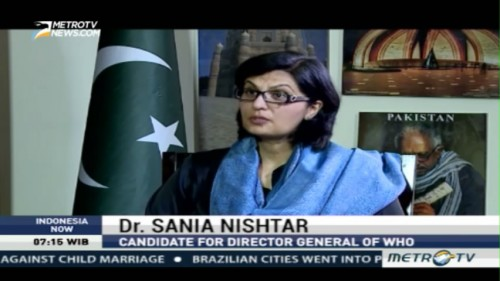 Interview with Dr. Sania Nishtar