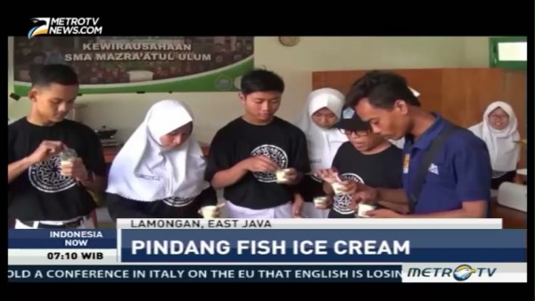 Pindang Fish Ice Cream