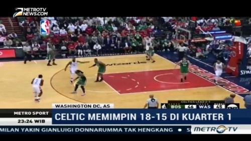Washington Wizard Taklukan Boston Celtics 121-102