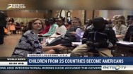 Childrens From 25 Countries Become Americans