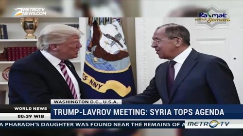 Syria Tops Agenda in Trump-Lavrov Meeting