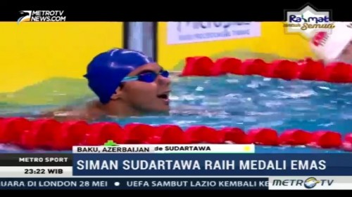 Tim Renang Indonesia Tambah Raihan Medali di Islamic Solidarity Games 2017