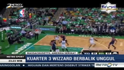 Boston Celtics Kalahkan Washington Wizards