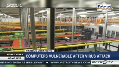 Computers Vulnerable After Virus Attack