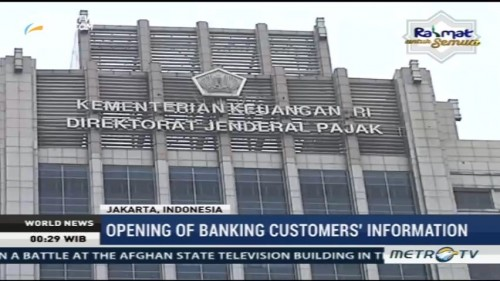 Opening of Banking Costumers Information