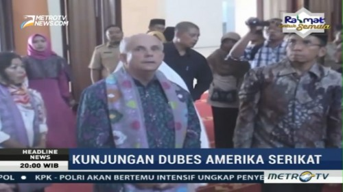 Dubes AS Kunjungi Islamic Center di NTB
