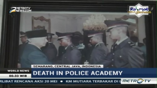 Investigation of The Death in Police Academy