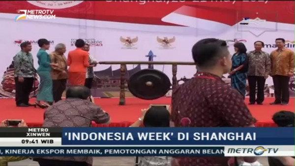 Indonesia Week Digelar di Shanghai