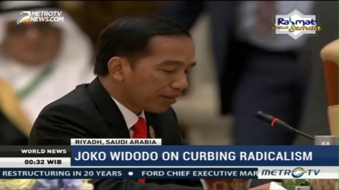 Joko Widodo on Curbing Radicalism