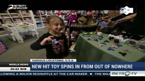 New Hit Toy Spins In from Out of Nowhere