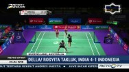 Piala Sudirman 2017, Indonesia Takluk 1-4 dari India