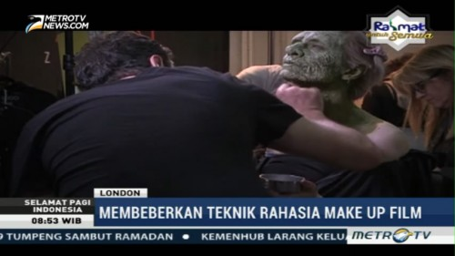 Membeberkan Teknik Rahasia Make Up Film