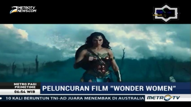 Film Wonder Woman Dirilis Serentak 2 Juni