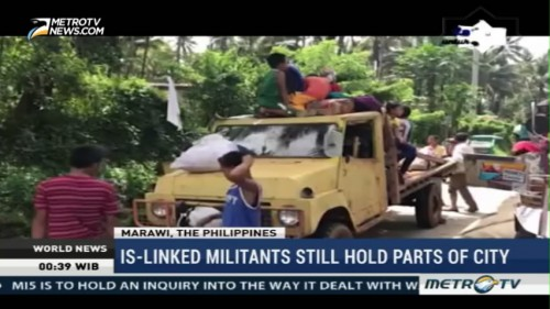 IS-Linked Militants Still Hold Parts of City