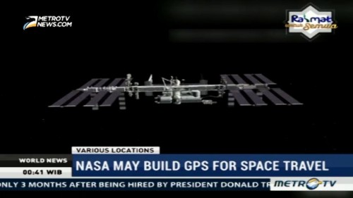 NASA May Build GPS for Space Travel